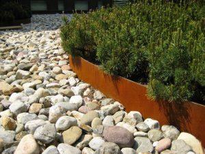 dai forma al tuo giardino con la bordura in acciaio COR-TEN